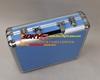 Portable fancy high quality custom aluminum headphone protective case