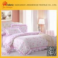 BS49 custom print bedding sets floral cotton fabrics