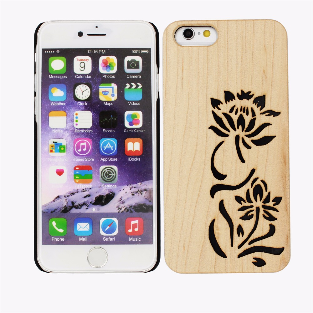 Oem Design Beautiful Wood Mobile Phone Cover For Cell ...
