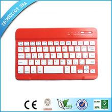 Teclado de la computadora óptica delgado,Caja del teclado de 7 pulgadas para la tableta androide