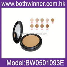 silky pressed powder , H0T030 waterproof powder compact