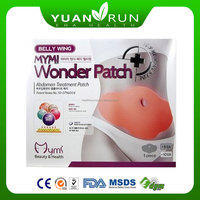 Korea Top Selling Mymi belly wonder patch slimming patch
