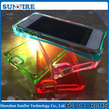 led flash light back cover for iphone 5, for iphone 5 fancy cover, cell phones covers with led lights