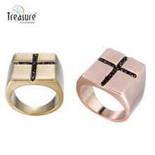 2015 wholesale wedding engagement diamond cross gold ring