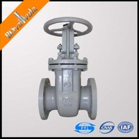 WCB gate valve 6 inch gate valve worm gear casting gate valve