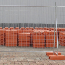 2015 the very good price hot galvanized portable Temporary fencing/fence