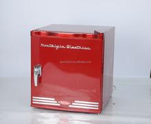 mini fridge 46L mini fridge retro fridge