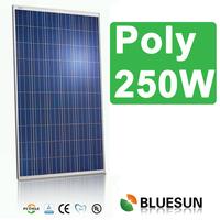 high quality iso ce tuv certificate solar module 250w 24v