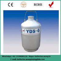 Professional small capacity liquid nitrogen tank with 6L