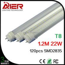 T8 1200mm 22Watt 4ft led tube light