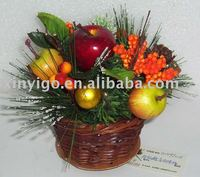 Fruits Basket,Christmas Decoration,Artificial Flower