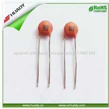 103( z) condensadores de cerámica 100v +80%- 20%