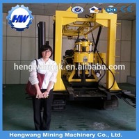 High efficient for drilling rock~ 130m depth HW130 deep rock well drill equipment from HW factory