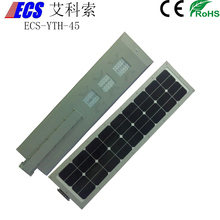 60w solar panel solar led street light all in one in 45w lamps