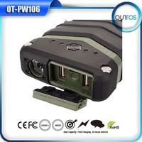 IP67 Super Waterproof Powerbank 18000mah Portable External Power Bank With Flashlight