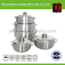 sanding pot New product the factory good quality and non-stick cookware set