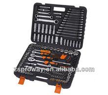 150pcs 1/2*3/8*1/4 dr.Metric & SAE socket set, bit socket set, rachet wrenchs, extension bar
