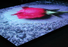 Birthday party Full color dance floor LED display screen