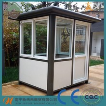 High quality portable outdoor house,stainless steel guard,security guard house