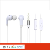 Fashionable headset and headphone for samsung lg cute earphone for girls