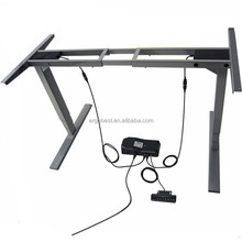 Office Desk adjustable height table sit to stand workstation