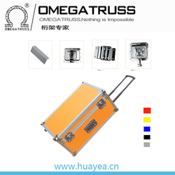 Aluminum beer carry case trolley case Tension bar box