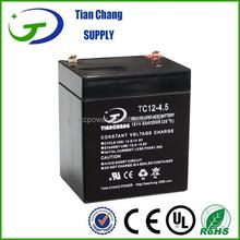 12V 4.5Ah Lead Acid SLA VRLA Gel Solar PV UPS Battery
