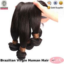Brasileña 5A Grado de cabello Cut partir de un donante libre de químicos barato al por mayor del pelo brasileño sin procesar