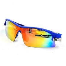 Cool man sports mirrored lens sunglasses, sun glasses with blue coating lens