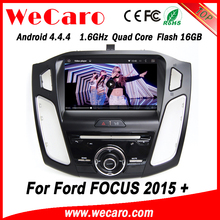 Wecaro WC-FF8088 Android 4.4.4 car dvd player 1024*600 car audio for ford focus 2015 Steering Wheel Control