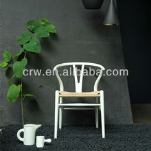 RCH-4036-6 white throne chair models room wooden Y Chair