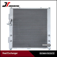 Custom Aluminum Oil Cooler For Sumitomo SH340 Heat Exchanger