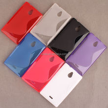 Soft S-Line Hybrid TPU Gel Cover Case for Nokia X2 (2014 Version)