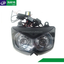 Motorcycle Headlight Red Devil Eye Eagle Eyes Headlight/Head Lamp for Kawasaki Ninja 250-2010
