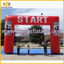 6m Red Custom Advertising Inflatable Start Finish Line Arch Price