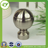 Round iron curtain rod and finials