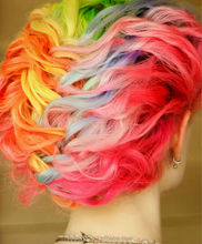 chalk damage hair coloring