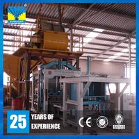 Automatic concrete cement brick production line