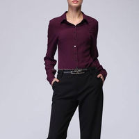 Good quality best sell cutwork blouse