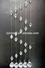 Cortina de lujo, Cristal de la artesanía cortina