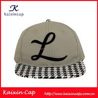 Casquette Personnalisable Logo Design L 3D Embroidery Logo 6 Panels Snapback Hat Cap