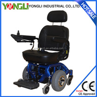 Dual motor automatic blue wheelchair electric wheelchair powered tricycle