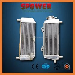 2015 new design aluminium radiators for motorcycle