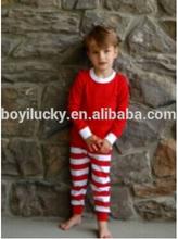 الجملة مصمم الملابس الاطفال منامة الطفل بوتيك ملابس عيد الميلاد للأطفال