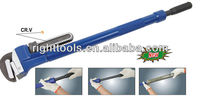 ADJUSTABLE EXTENSILE PIPE WRENCH