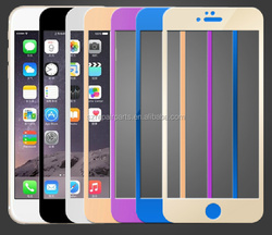 0.26mm 0.33mm 2.5 D 9H for iphone 6 tempered glass screen protector 3d