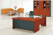 luxury executive wooden l shaped office desk
