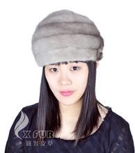 Cx-c-11b Kore moda kadın vizon kürk şapka