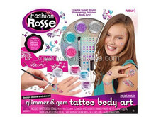 Watercolor Paint Temporary Tattoo Sticker