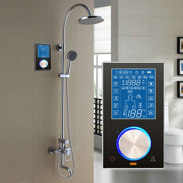 Digital Body Jet Switch Shower Wall Panels Controller System - Buy ...